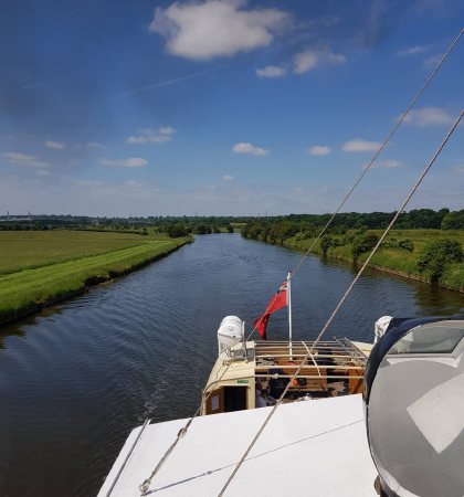 2.5 hour cruise - Sutton Weaver - Acton Bridge. June 21, 26, 27. July 19, 24. AUg 29. Sep 5, 11. Oct 2 2020